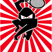 logo for tennis team