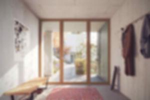 Terrassensiedlung Sommerhalde Terassenhaus | Eigentumswohnung | Sommerhalde | Uerkheim | Aargau | Verkauf | Eingang