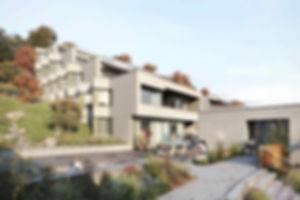 Terrassensiedlung Sommerhalde Terassenhaus | Eigentumswohnung | Sommerhalde | Uerkheim | Aargau | Verkauf | Aussenbild Eingang