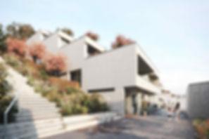 Terrassensiedlung Sommerhalde Terassenhaus | Eigentumswohnung | Sommerhalde | Uerkheim | Aargau | Verkauf | Aussenbild Treppe