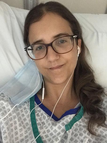 November 2020 - In hospital post-masecto