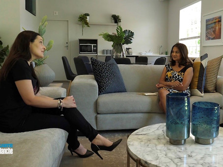CEO EVY MICHALOPOULOS INTERVIEWED ON CARTE BLANCHE