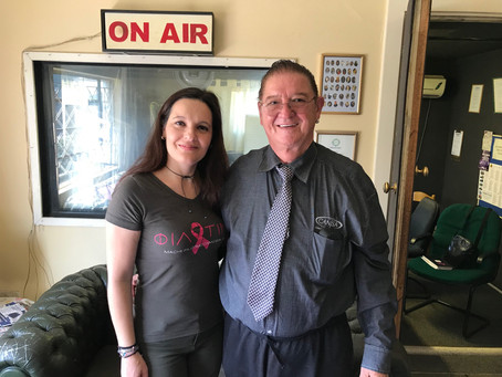 ON THE HELLENIC RADIO WITH PROF. HERBST FROM CANSA