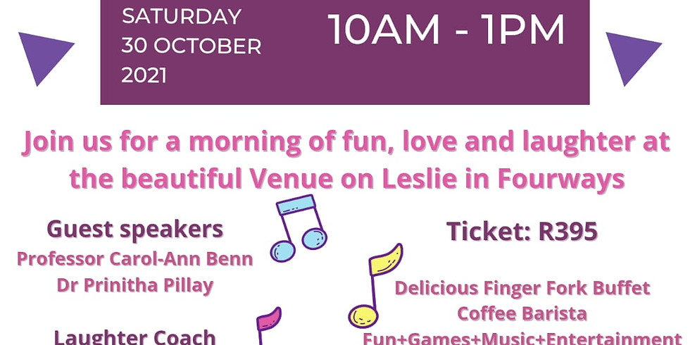 FUN + LOVE + LAUGHTER BRUNCH FOR BREAST CANCER AWARENESS