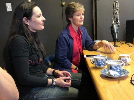 ON THE HELLENIC RADIO WITH HOSPICE WITS