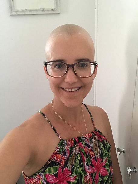 December 2020 - the day I shaved my hair