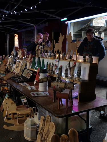 All your Chrstmas shopping along Wheelock Street