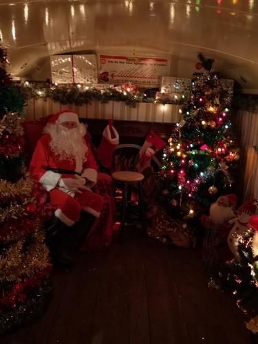 St Lukes Santa Bus, Wheelock Street