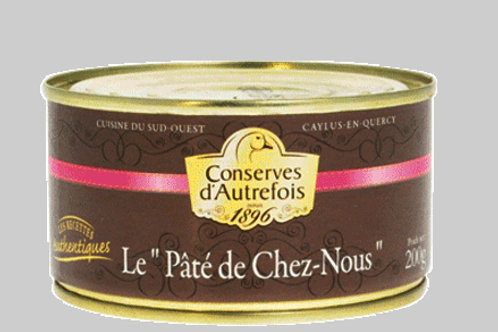"""Pâté de """"Chez Nous"""" 200g"""