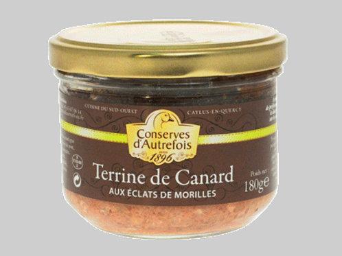 Fine Terrine de Canard aux Morilles 90g