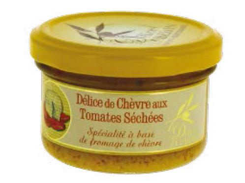 DELICE DE CHEVRE AUX TOMATES SECHEES 90g