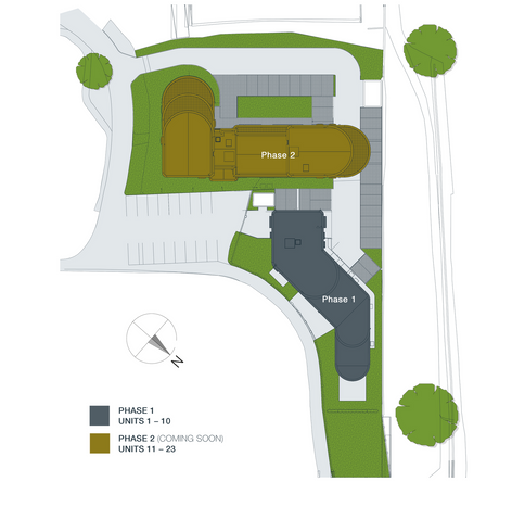 Oaks View Site Layout