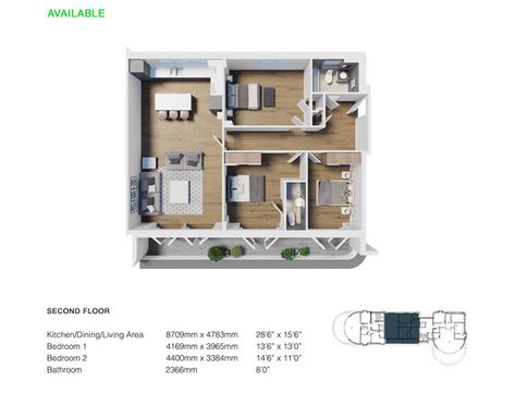 Apartment 22 - 3 Bedroom