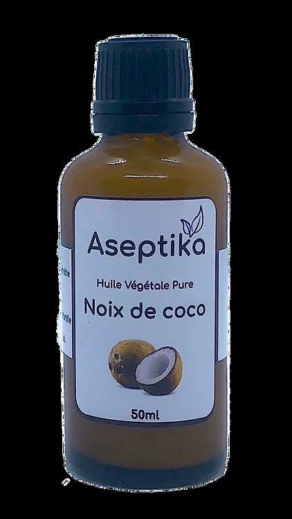 Huile végétale pure de noix de coco 50ml