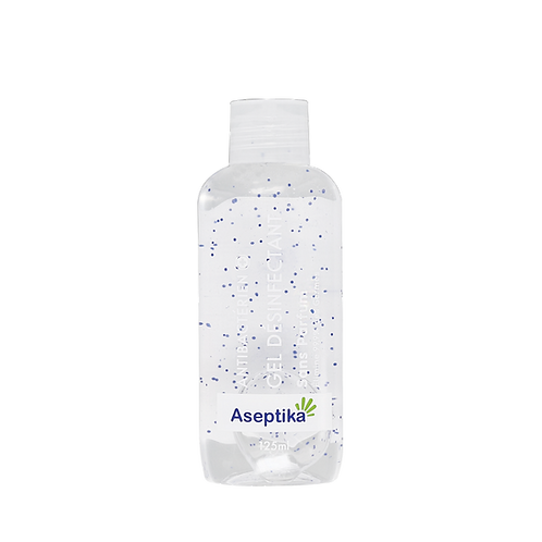 Gel Antiseptique Aseptika 125 ml Sans Parfum