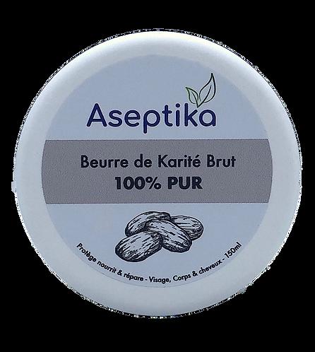 Beurre de karité brut 150ml