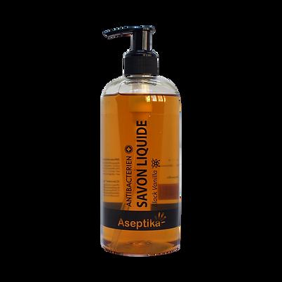Savon Liquide Aseptika 500ml Black Vanilla