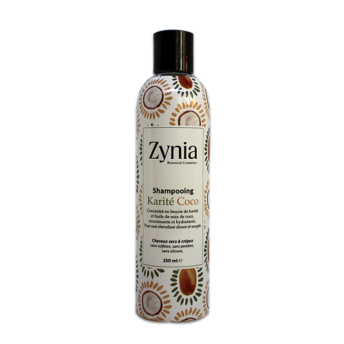 Shampooing Karité Coco Zynia By  Aseptika 250ml