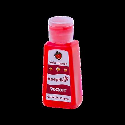 Gel Mains Propres Pocket 30ml Fraise