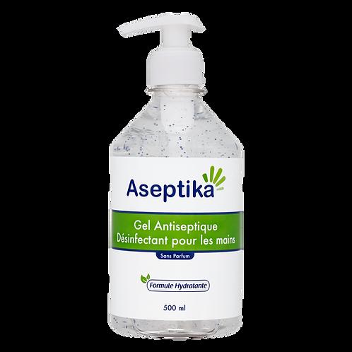 Gel Mains Antiseptique Aseptika 500ml