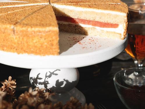 Торт «Розмариновый с томатом»