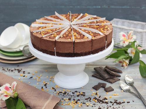 Муссовый торт «Шоколадный апельсин»