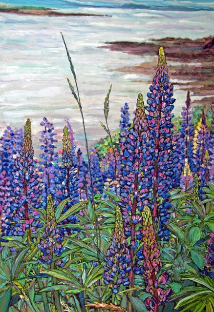Lovely Lupines - SMALL