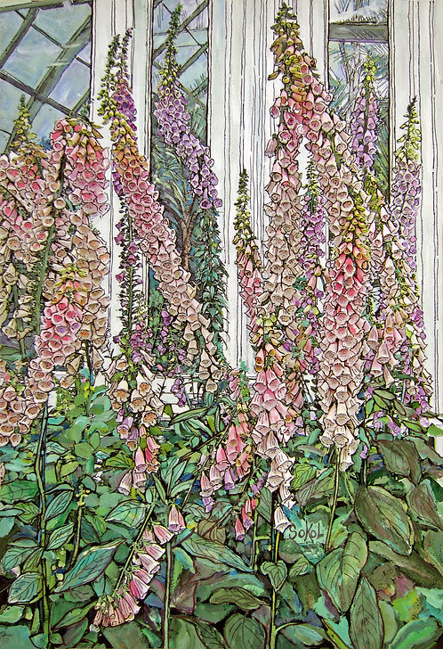 Foxgloves - SMALL