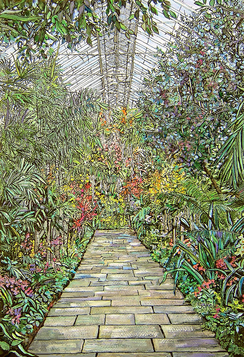 Conservatory Walkway - SMALL
