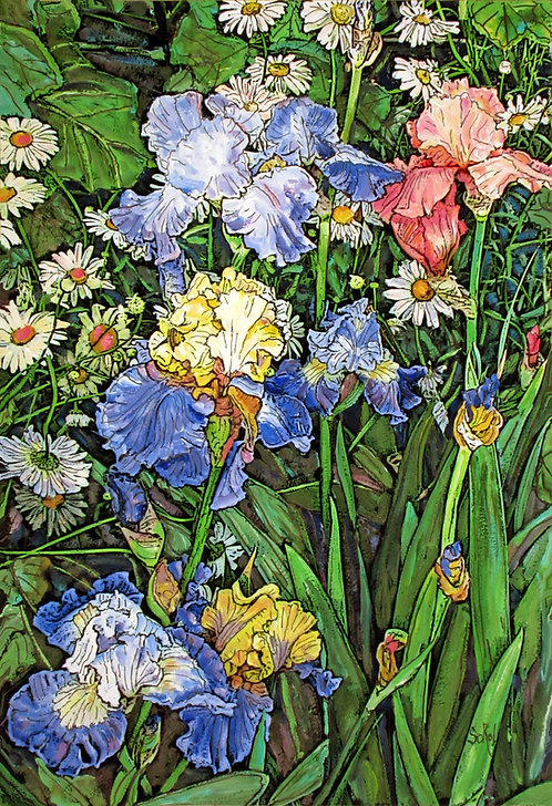 Vertical Irises - LARGE