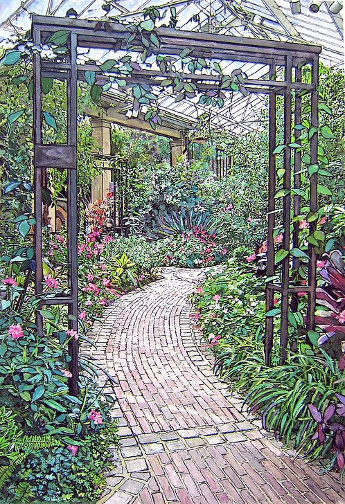 Garden Path - SMALL