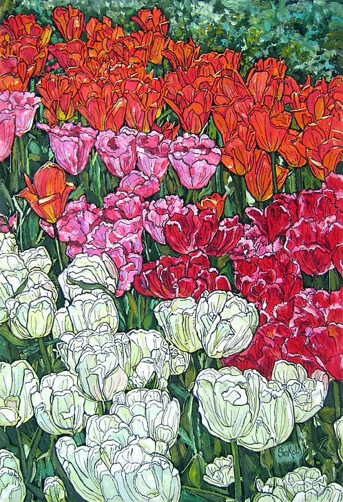 Vertical Tulip Garden - LARGE