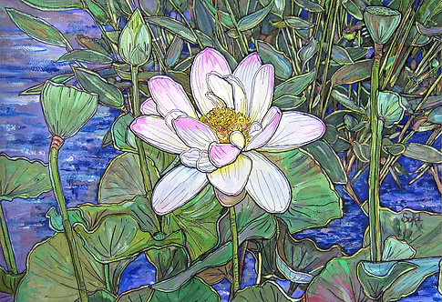 Lovely Lotus - SMALL