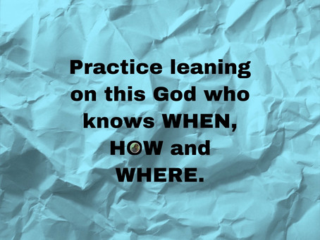 TODAY'S PRAYER: LORD, I HAVE CHANGED MY FOCUS