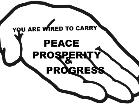 TODAY'S PRAYER:WIRED FOR PEACE, PROSPERITY AND PROGRESS