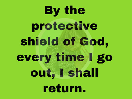 TODAY'S PRAYER: SAFETY IS MY PORTION