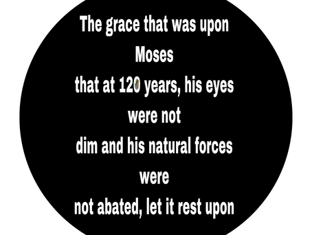 TODAY'S PRAYER: LET THE GRACE REST UPON ME