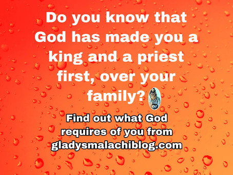 TODAY'S PRAYER: A KING AND A PRIEST