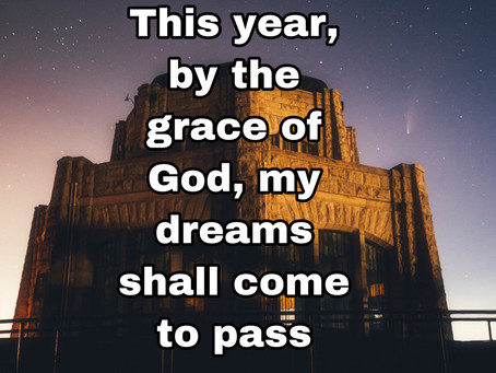 TODAY'S PRAYER: FULFILLMENT OF MY DREAMS