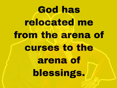 TODAY'S PRAYER: I CANNOT BE CURSED