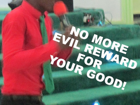 TODAY'S PRAYER: ROD THAT ATTRACTS EVIL TO GOOD DONE, SCATTER!
