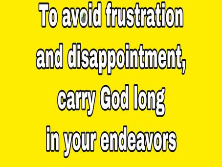 TODAY'S PRAYER: COMMIT YOUR WAYS UNTO GOD