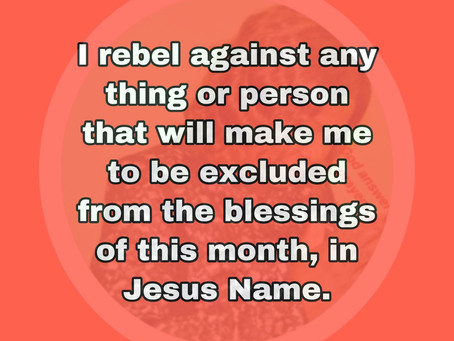 TODAY'S PRAYER: MY NAME IS IN THE LIST