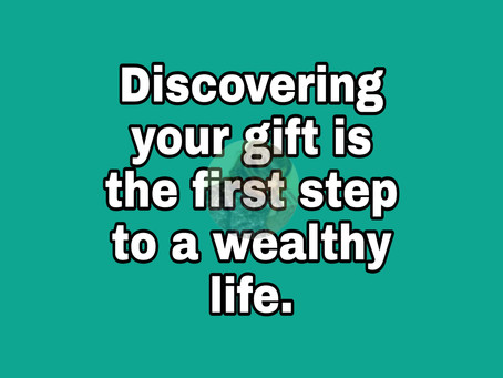 TODAY'S PRAYER: THE POWER OF YOUR GIFT