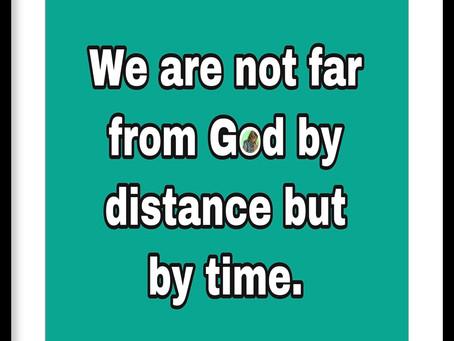 TODAY'S PRAYER: MEDITATE ON GOD ALWAYS