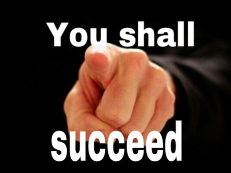 TODAY'S PRAYER: BORN TO SUCCEED!