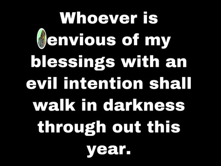 TODAY'S PRAYER: THEIR INTENTION WILL BACKFIRE