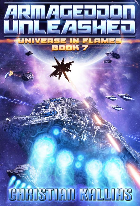 Book 7 Cover : Armageddon Unleashed