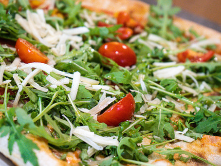 Sizilianische Pizza