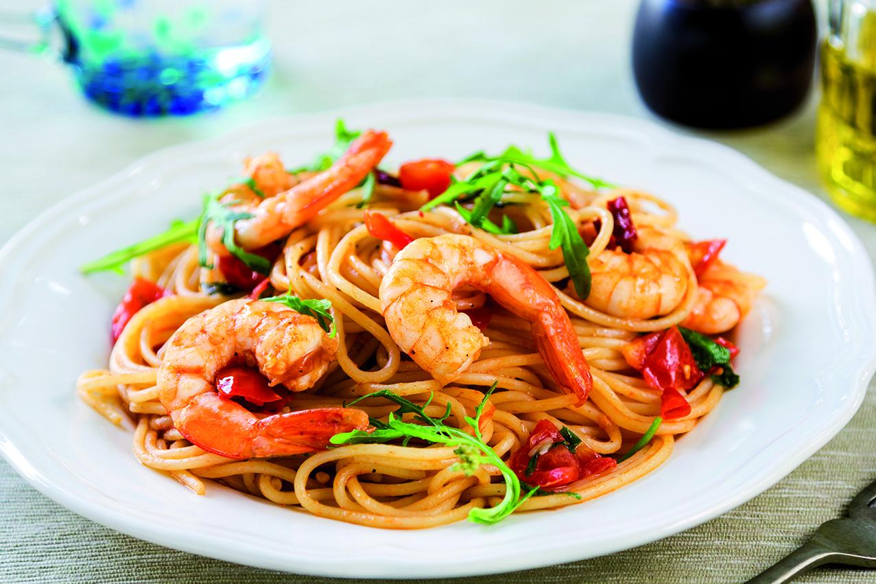 Spaghetti Garnelen